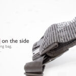 Hip bag (3.8 liter) – The default bag for scuba dive and clean ups