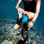 Techbag – Calf bag (1.2 liters) – The smaller bag: for every surf and dive.