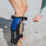Calf bag QUICK RELEASE- 1.2 liters – The smaller bag: for every surf and dive.